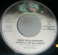 Greg Phillinganes - Takin' It Up All Night