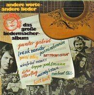 Gunter Gabriel, Frank Zander a.o. - Das große Liedermacheralbum