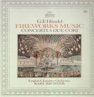 Händel - Fireworks Music,, English Chamber Orch, Richter