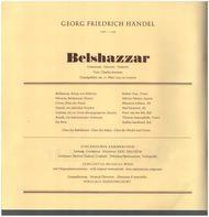 Händel/ N. Harnoncourt, Robert Tear, Concentus musicus Wien - Belshazzar