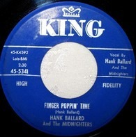 Hank Ballard & The Midnighters - Finger Poppin' Time / I Love You, I Love You So-o-o