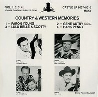 Hank Penny - Country and Western Memories