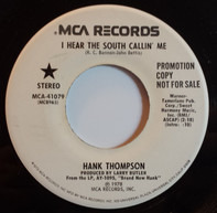 Hank Thompson - I Hear The South Callin' Me