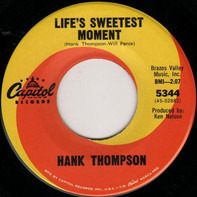 Hank Thompson - Life's Sweetest Moment / I'm Gonna Practise Freedom