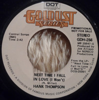 Hank Thompson - Next Time I Fall In Love / The Mark Of A Heel