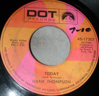 Hank Thompson - Today / I See Them Everywhere