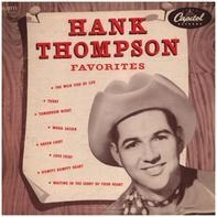 Hank Thompson - Favorites