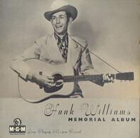Hank Williams With His Drifting Cowboys - Hank Williams Memorial Album