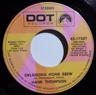 Hank Thompson - Oklahoma Home Brew