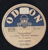 Hans Albers - Schauckellied / Ich kam von Alabama...
