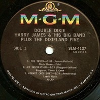 Harry James And His Big Band Plus The Dixieland Five - Double Dixie