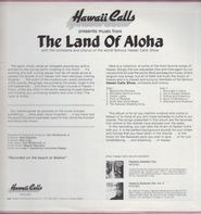 Hawaii Calls - The Land Of Aloha