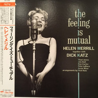 Helen Merrill Together With Dick Katz - The Feeling Is Mutual