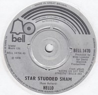Hello - Star Studded Sham