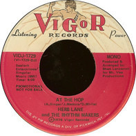 Herb Lane And The Rhythm Makers - At The Hop