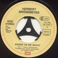 Herbert Grönemeyer - Kinder An Die Macht