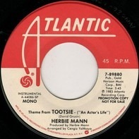 Herbie Mann - Theme From Tootsie (An Actor's Life)