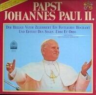 His Holiness Pope John Paul II - Der heilige Vater zelebriert ein festliches Hochamt und erteilt den Segen 'Urbi Et Orbi'