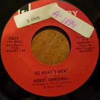 Horst Jankowski - So What's New / A Place In The Sun