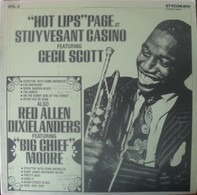 Hot Lips Page Featuring Cecil Scott Also Red Allen Dixielanders Featuring 'Big Chief' Russell Moore - at Stuyvesant Casino