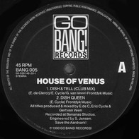 House Of Venus - Dish & Tell