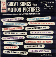 Hugo Montenegro - Great Songs From Motion Pictures Vol. 2 (1938 - 1944)