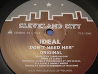 Ideal - Don't Need Her
