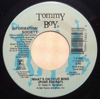 Information Society - What's On Your Mind / Walking Away