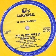 Instant Funk / Eddie Holman - I Got My Mind Made Up / This Will Be A Night To Remember