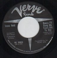 Irene Reid - Guess I'll Hang My Tears Out To Dry / It's Too Late
