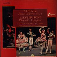Isaac Albéniz , Franz Liszt - Ferruccio Busoni , Felicja Blumental - Piano Concerto No. 1 / Rhapsodie Espagnole