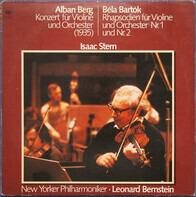 Alban Berg , Béla Bartók - Konzert Für Violine Und Orchester (1935) / Rhapsodien Für Violine Und Orchester Nr. 1 Und Nr. 2