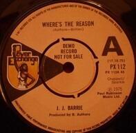 J. J. Barrie - Where's The Reason (Promo)