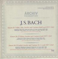 J.S. Bach - 3 Doppelkonzerte