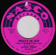 Jackie Trent - What's He Got (That I Couldn't Give You) / Little Andy