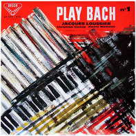 Jacques Loussier , Christian Garros , Pierre Michelot - Play-Bach N° 1