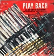 Jacques Loussier / Christian Garros / Pierre Michelot - Play Bach N°1