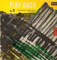 Jacques Loussier, Christian Garros, Pierre Michelot - Play Bach No.3