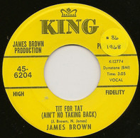 James Brown - Tit For Tat (Ain't No Taking Back)