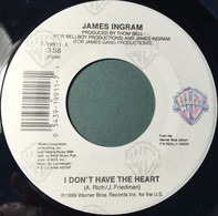 James Ingram - I Don't Have The Heart / Baby Be Mine