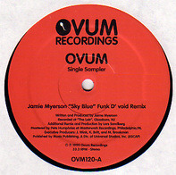 Jamie Myerson / Woody McBride - Ovum Single Sampler