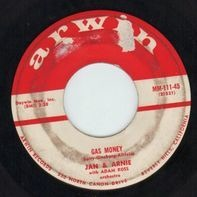 Jan & Arnie With Adam Ross Orchestra - Gas Money / Bonnie Lou