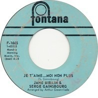 Jane Birkin & Serge Gainsbourg - Je T'aime...Moi Non Plus
