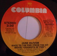 """Jane Olivor - Race To The End (From The Hit Movie """"Chariots Of Fire"""")"""