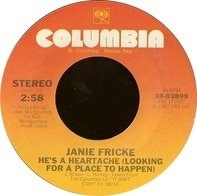 Janie Fricke - He's A Heartache (Looking For A Place To Happen) / Tryin' To Fool A Fool