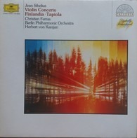Jean Sibelius, Berliner Philh., Karajan, Ferras - Violinkonzert / Finlandia / Tapiola