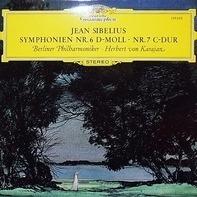 Sibelius - Symphonie Nr. 6 In D-Moll, Nr.7 In C-Dur (Karajan)
