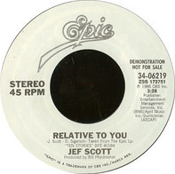 Jef Scott - Relative To You