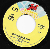 Jeff Lynne - Doin' That Crazy Thing / Goin Down To Rio