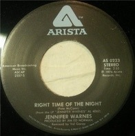 Jennifer Warnes - Right Time Of The Night / Daddy Don't Go